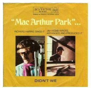 Richard Harris: Mac Arthur Park - Cover