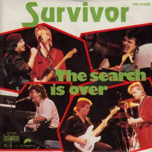 Survivor: Search Is Over, The - Cover