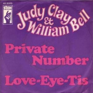 Cover - Judy Clay & William Bell: Private Number