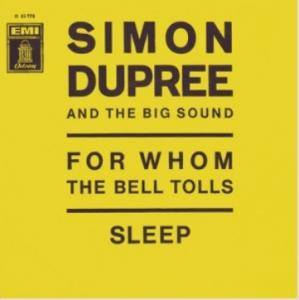 Cover - Simon Dupree & The Big Sound: For Whom The Bell Tolls