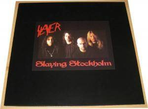 Slayer: Slaying Stockholm - Cover