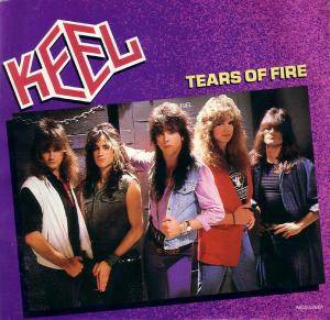 Keel: Tears Of Fire - Cover