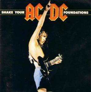 AC/DC: Shake Your Foundations - Cover