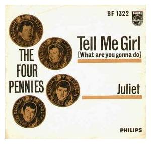 Cover - Four Pennies, The: Juliet
