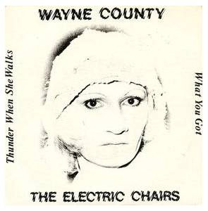 Cover - Wayne County & The Electric Chairs: Thunder When She Walks