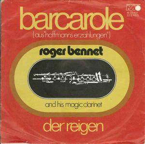Cover - Roger Bennet And His Magic Clarinet: Barcarole