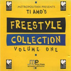 Ti Amo's Freestyle Collection Volume One - Cover
