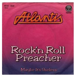 Cover - Atlantis: Rock'n Roll Preacher
