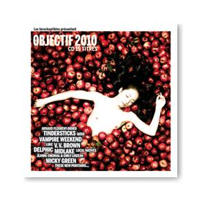 Cover - Micky Green: Les Inrockuptibles Présentent Objectif 2010