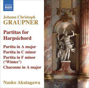 Cover - Christoph Graupner: Partitas For Harpsichord