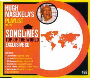 Cover - Dark City Sisters: SONGLiNES Top of the World Compilation CD #36