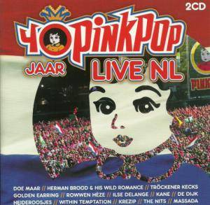 40 jaar pinkpop cd 40 Jaar Pinkpop LIVE NL   2 CD, 2009, Live, Super Jewel Case 40 jaar pinkpop cd