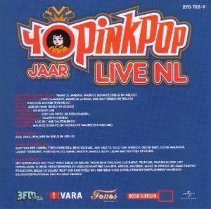40 Jaar Pinkpop Cd