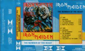 Iron Maiden: The Number Of The Beast (Tape) - Bild 2