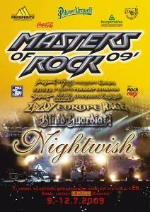 Masters Of Rock 09' - Cover