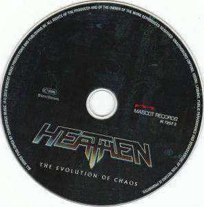 Heathen: The Evolution Of Chaos (CD) - Bild 3