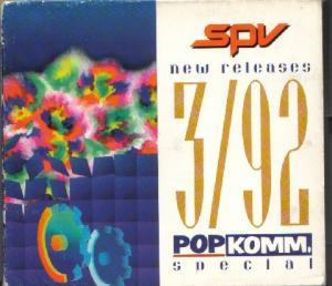 spv New Releases 3/92: PopKomm. Special - Cover