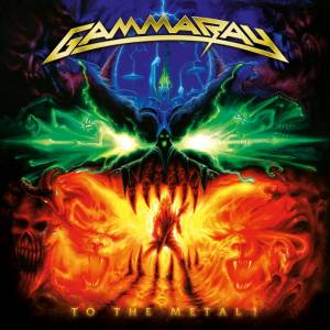 Cover - Gamma Ray: To The Metal!