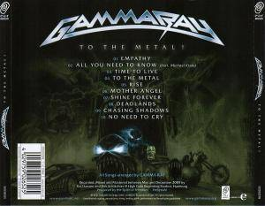 Gamma Ray: To The Metal! (CD) - Bild 4