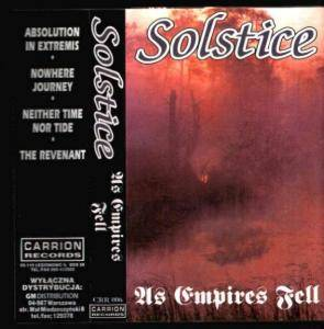 Cover - Solstice: As Empires Fell