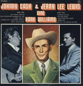 Johnny Cash: Sing Hank Williams - Cover