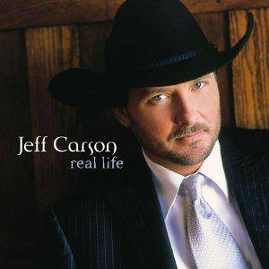 Jeff Carson: Real Life - Cover