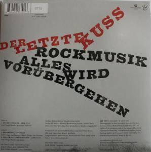 """Die Toten Hosen: Der Letzte Kuss (7"""") - Bild 2"""