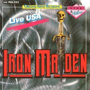 Iron Maiden: Live USA - Cover