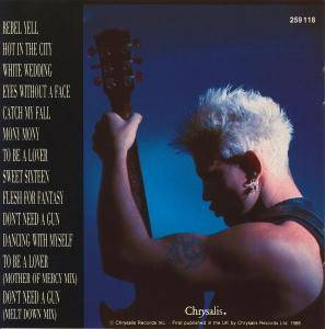 Billy Idol: Idol Songs - 11 Of The Best (CD) - Bild 2