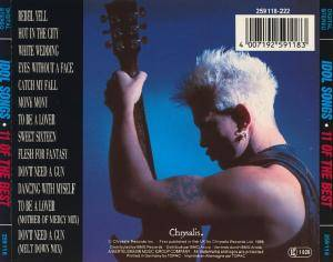 Billy Idol: Idol Songs - 11 Of The Best (CD) - Bild 3