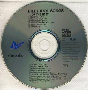 Billy Idol: Idol Songs - 11 Of The Best (CD) - Bild 4