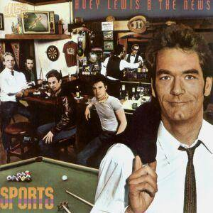 Huey Lewis & The News: Sports - Cover
