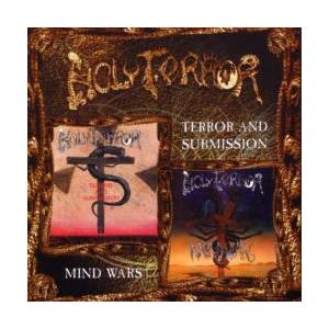Holy Terror: Terror And Submission / Mind Wars - Cover