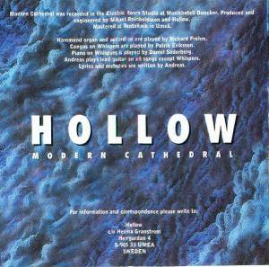 Hollow: Modern Cathedral (CD) - Bild 2