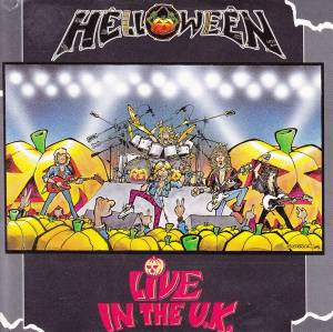 Helloween: Live In The U.K. - Cover