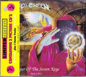 Helloween: Keeper Of The Seven Keys Parts 1 & 2 - Cover