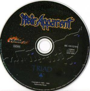 Heir Apparent: Triad (CD) - Bild 3