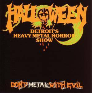 Halloween: Don't Metal With Evil - Cover