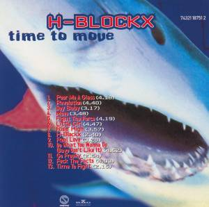 H-Blockx: Time To Move (CD) - Bild 2