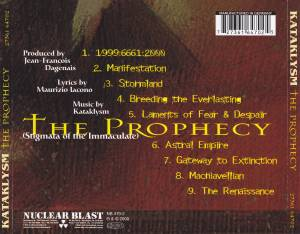 Kataklysm: The Prophecy (Stigmata Of The Immaculate) (CD) - Bild 4