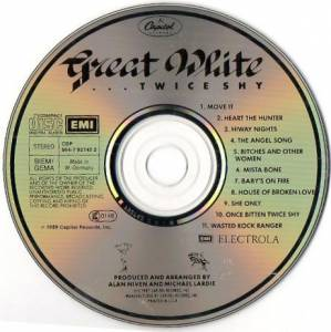 Great White: ...Twice Shy (CD) - Bild 3