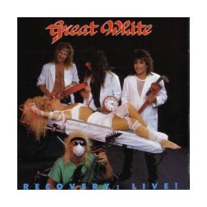Great White: Recovery: Live! - Cover