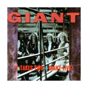 Cover - Giant: It Takes Two - Giant Live