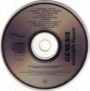 Genesis: Invisible Touch (CD) - Bild 2