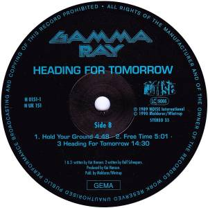 Gamma Ray: Heading For Tomorrow (LP) - Bild 6
