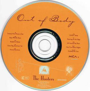 The Hooters: Out Of Body (CD) - Bild 4
