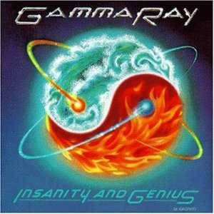 Gamma Ray: Insanity And Genius - Cover