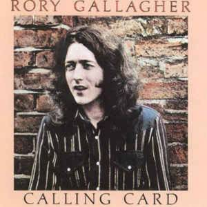 Rory Gallagher: Calling Card - Cover