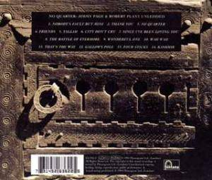 Jimmy Page & Robert Plant: No Quarter (CD) - Bild 2