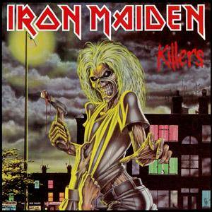 Iron Maiden: Killers - Cover